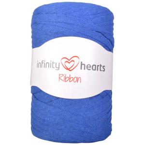 Infinity Hearts Ribbon Stofgarn 18 Kongeblå