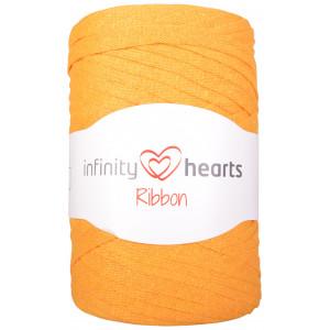 Infinity Hearts Ribbon Stofgarn 28 Sennepsgul