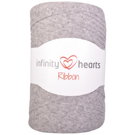 Infinity Hearts Ribbon Stofgarn 04 Lysegrå thumbnail