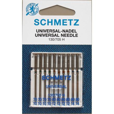 Image of   Schmetz Symaskinenåle Universal 130/705H Str. 70-110 - 10 stk