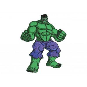 Image of   Marvel Hulk Strygemærke 9x7 cm - 1 stk