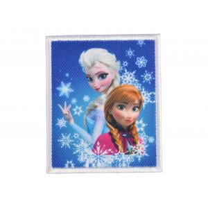 Disney Frost Strygemærke Anna og Elsa 6x7 cm - 1 stk