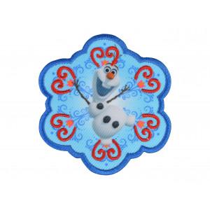 Disney Frost Strygemærke Olaf 7x6,5 cm - 1 stk