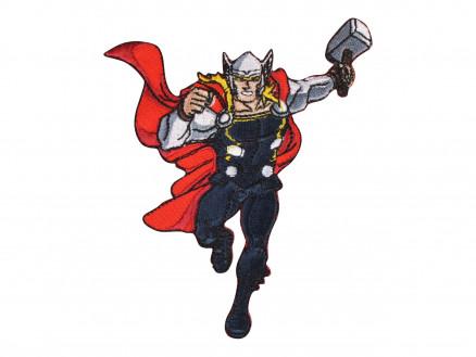 Image of   Marvel Thor Strygemærke 11x8 cm - 1 stk