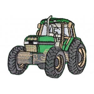 Strygemærke Traktor Grøn 6x6,5 cm - 1 stk