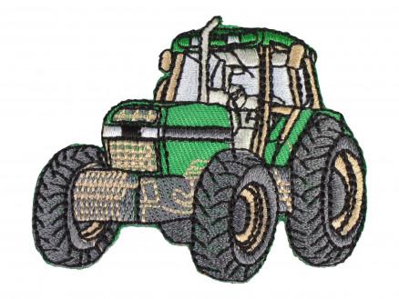 Image of   Strygemærke Traktor Grøn 6x6,5 cm - 1 stk