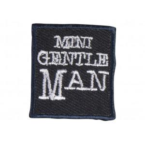 Image of   Strygemærke Mini Gentleman Sort 3 cm - 1 stk