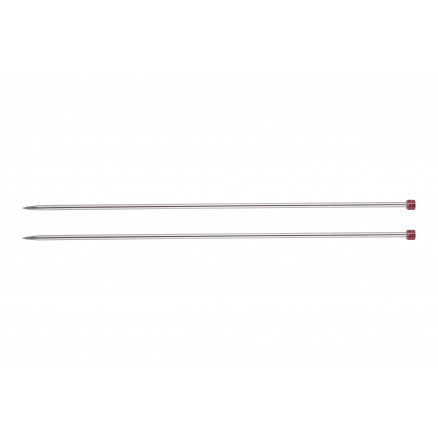 Image of   KnitPro Nova Metal Strikkepinde / Jumperpinde Messing 40cm 3,75mm