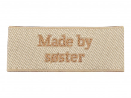 Image of   Label Made by Søster Sandfarve