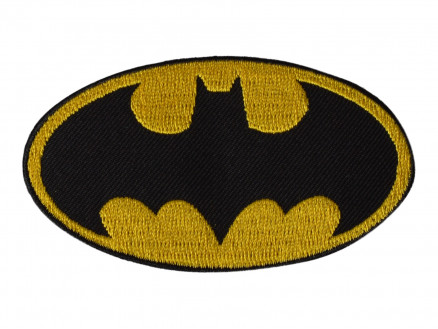Image of   DC Comics Batman Strygemærke 4,5x8 cm - 1 stk