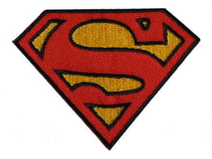 Image of   DC Comics Superman Strygemærke 5,5x7,5 cm - 1 stk