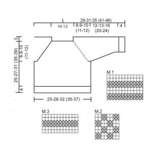 McDreamy by DROPS Design - Baby Blue Strikkeopskrift str. 1/3 mdr - 3/4 år
