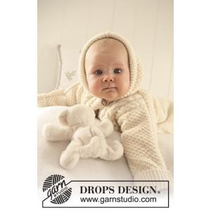 Sleeping Beauty by DROPS Design - Baby Kørepose Strikkeopskrift str. 1/3 mdr - 3/4 år