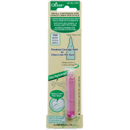 Clover Chaco Liner Pen Refill Pink thumbnail