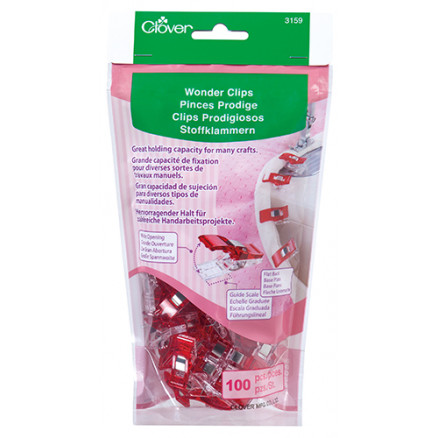 Image of   Clover Wonder Clips - 100 stk