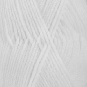 Drops Karisma Garn Unicolor 19 Hvid
