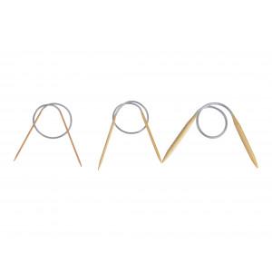 Bambus Rundpindesæt 40 cm 2-10 mm 15 størrelser