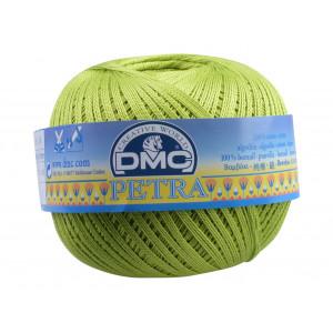 DMC Petra nr. 8 Hæklegarn Unicolor 5907 Æblegrøn