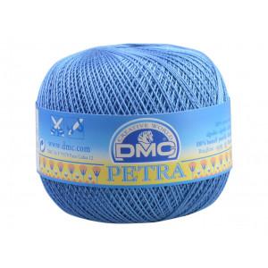 DMC Petra nr. 8 Hæklegarn Unicolor 5798 Jeansblå