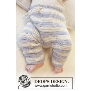 Heartthrob Pants by DROPS Design - Baby Bukser str. 1/3 mdr - 3/4 år