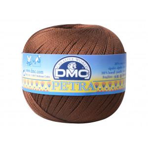 DMC Petra nr. 5 Hæklegarn Unicolor 5938 Brun
