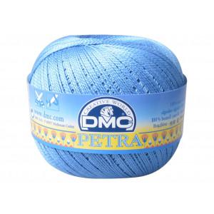 DMC Petra nr. 5 Hæklegarn Unicolor 5798 Jeansblå