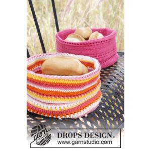 Bright Summer by DROPS Design - Kurv og Grydelapper