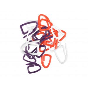 Image of   Prym Maskemarkører 21 stk. i rød, hvid og lilla