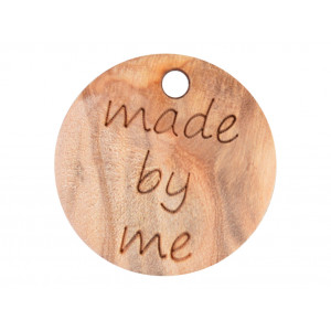 Image of   Label Træ Made by Me 1,8cm
