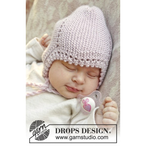 Lullaby by DROPS Design - Baby Hue Strikkeopskrift str. 0/1 mdr - 3/4 år