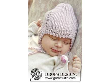 Image of   Lullaby by DROPS Design - Baby Hue Strikkeopskrift str. 0/1 mdr - 3/4