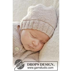 In my dreams by DROPS Design - Baby Hue Strikkekit str. Præmatur - 3/4 år