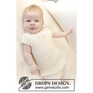 Simply Sweet Singlet by DROPS Design - Baby undertrøje Strikkekit str. Præmatur - 3/4 år