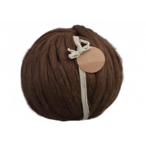 Knitting noodles ovilla lana kæmpe garn mørkebrun fra Knitting noodles på rito.dk