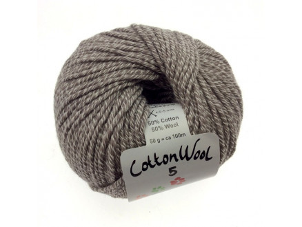 Gepard Garn Cottonwool 5 Unicolor 142 Beige