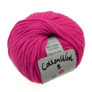 Gepard garn – Gepard garn cottonwool 5 unicolor 430 dæmpet pink fra rito.dk