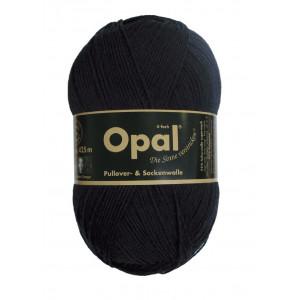 Opal uni 4-trådet garn unicolor 2619 sort fra Opal på rito.dk