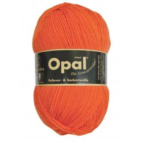 Opal Opal uni 4-trådet garn unicolor 5181 orange fra rito.dk