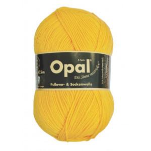 Opal uni 4-trådet garn unicolor 5182 solgul fra Opal på rito.dk