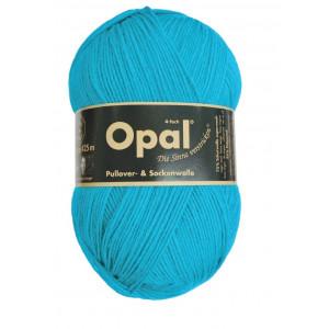 Opal Opal uni 4-trådet garn unicolor 5183 turkis på rito.dk