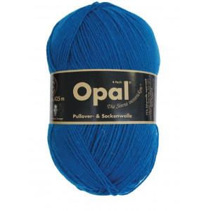 Opal uni 4-trådet garn unicolor 5188 blå fra Opal fra rito.dk