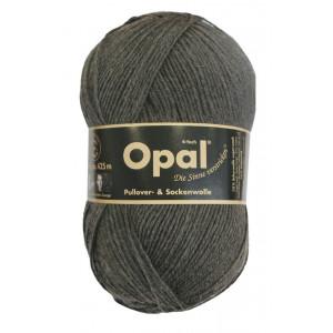 Opal Uni 4-trådet Garn Unicolor 5191 Antrasit Melange