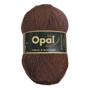 Opal Uni 4-trådet Garn Unicolor 5192 Mørk Brun