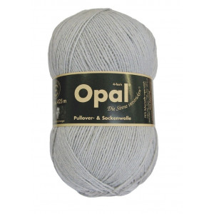 Opal Uni 4-trådet Garn Unicolor 5193 Mellemgrå