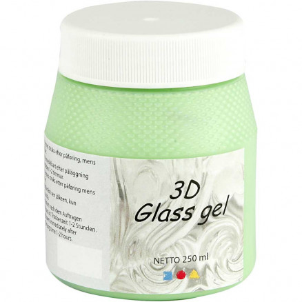 3D Glass gel, green, 250ml thumbnail
