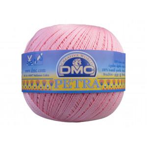 DMC Petra nr. 5 Hæklegarn Unicolor 5151 Lys Rosa