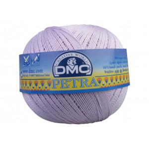DMC Petra nr. 5 Hæklegarn Unicolor 5211 Lys Syren