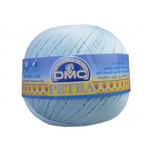 DMC Petra nr. 5 Hæklegarn Unicolor 54463 Babyblå