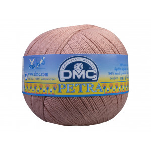 DMC Petra nr. 5 Hæklegarn Unicolor 5224 Gammelrosa