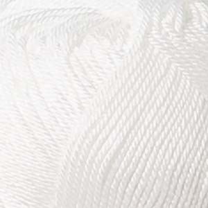 Järbo 8/4 Garn Unicolor 2210 Hvid 200g